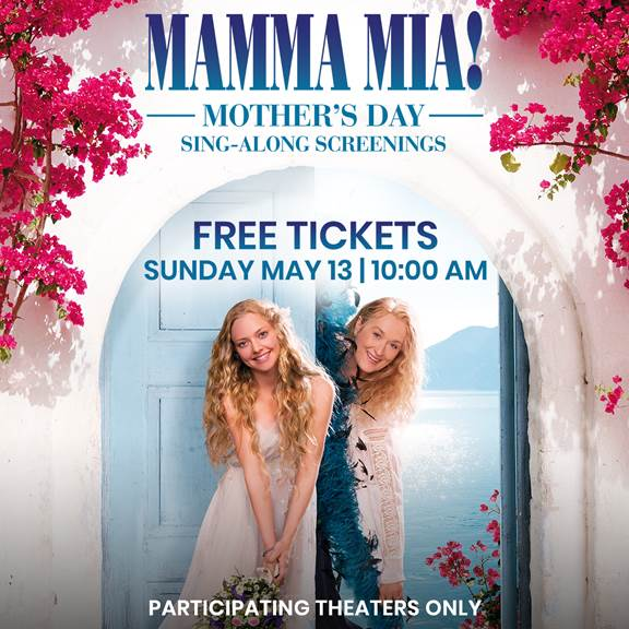 mamma mia singalong screening