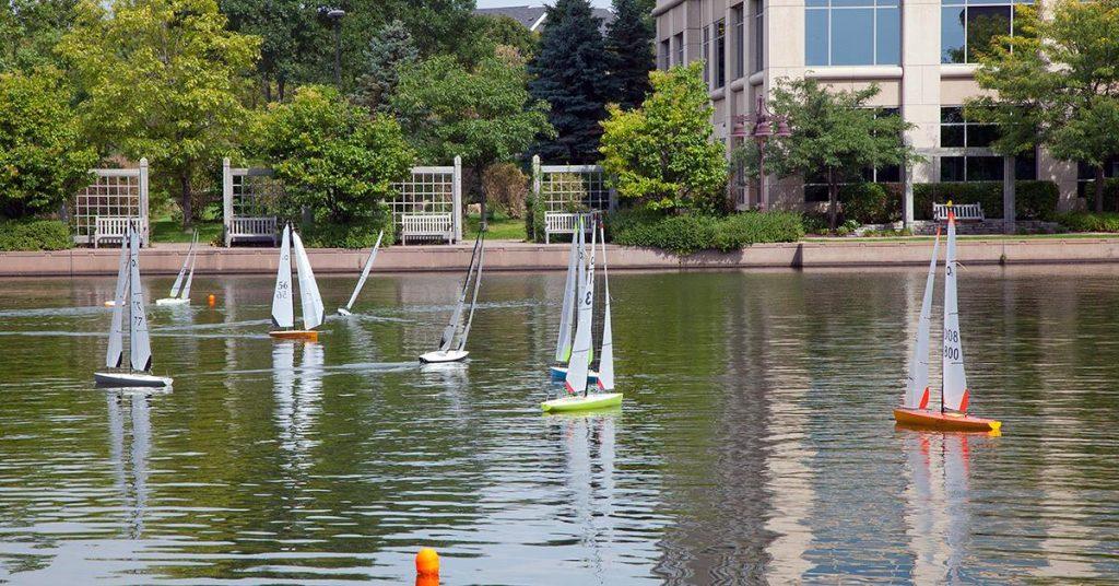 26th Annual Parade of Boats - Centennial Lakes Park, Edina