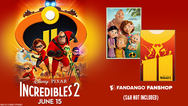 Free Incredibles 2 Poster