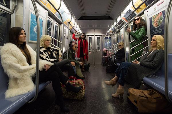 Oceans 8 Subway