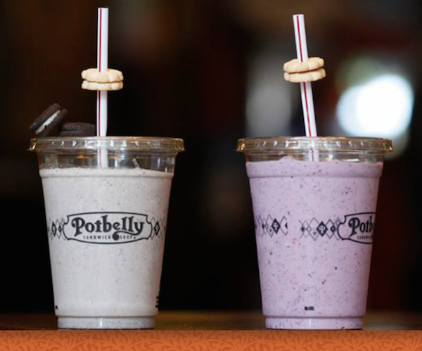 Potbelly Smoothies Shakes