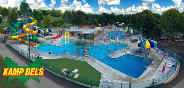 Kamp Dels Waterpark Waterville Minnesota