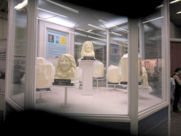 Minnesota State Fair Butter Sculptures