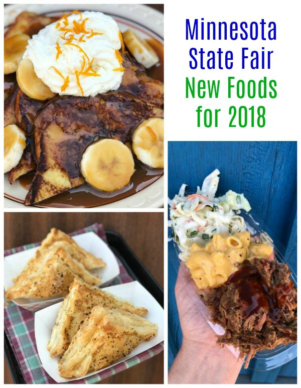 Minnesota State Fair New Foods 2018