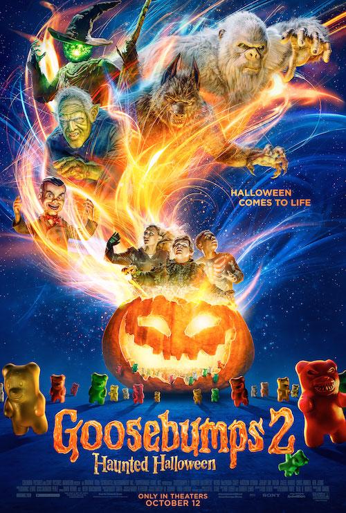 Goosebumps Haunted Halloween Poster