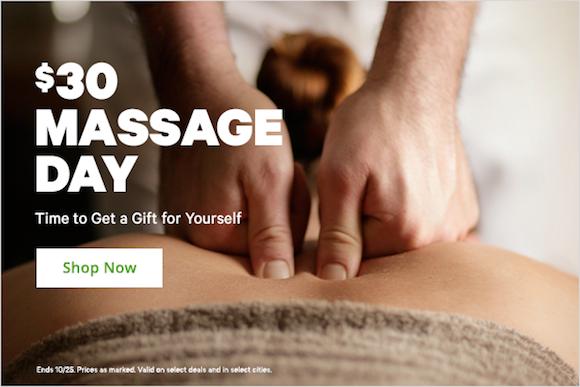Groupon Massage Day