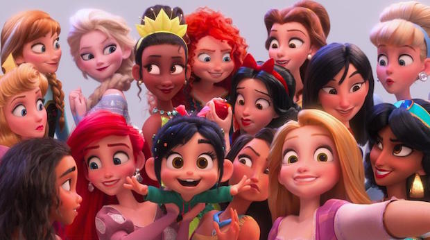 Ralph Breaks The Internet Disney Princesses