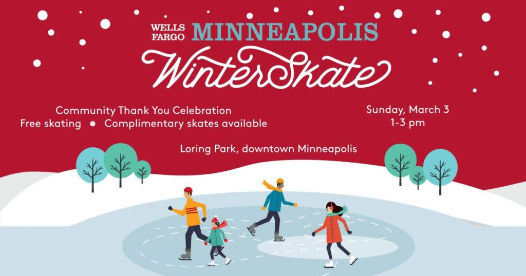 Minneapolis WinterSkate Community Thank You Celebration