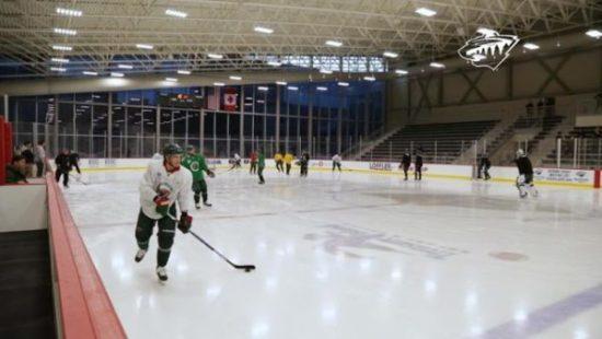 Minnesota Wild Free Open Practices at TRIA Rink