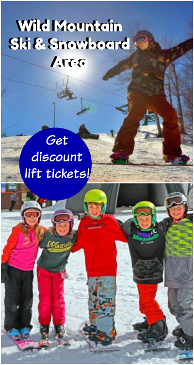Wild Mountain Ski and Snowboard Area Discount Tickets
