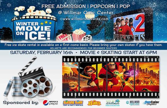 Willmar Winter Movie on Ice