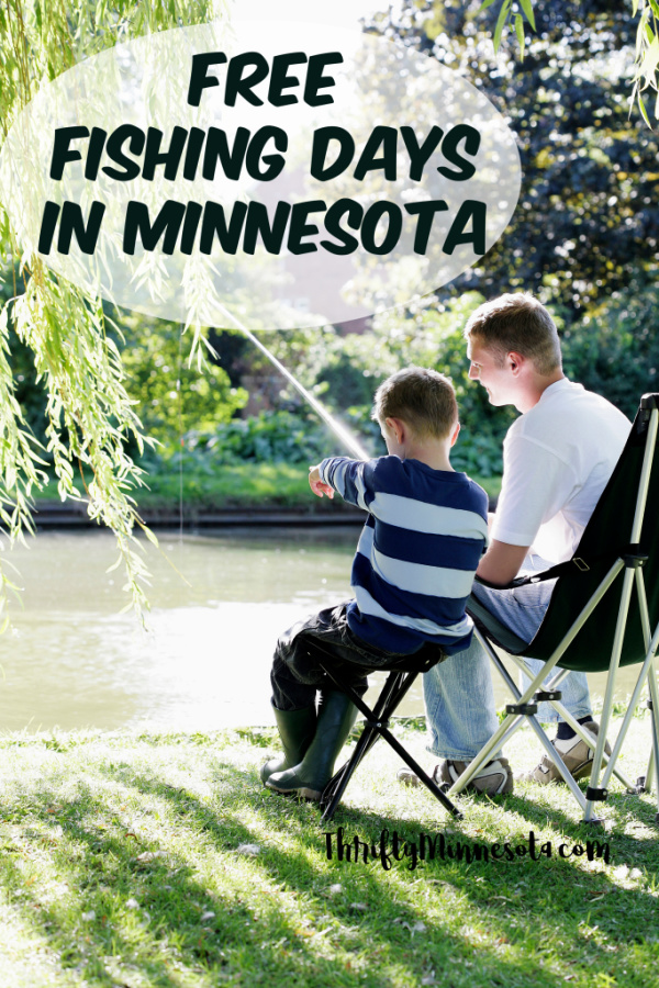 Free Fishing Days in Minnesota