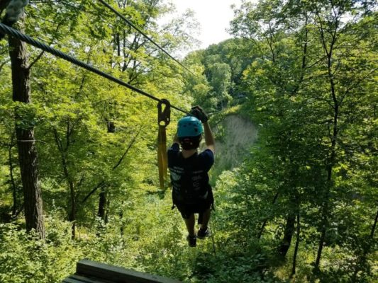 Kerfoot Canopy Tour ZipLine