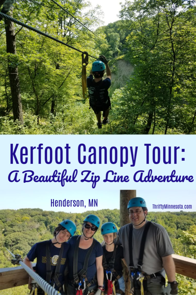 Kerfoot Canopy Tour - A Beautiful Zip Line Adventure in Henderson, MN