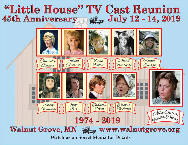 Little House on the Prairie Cast Reunion in Walnut Grove