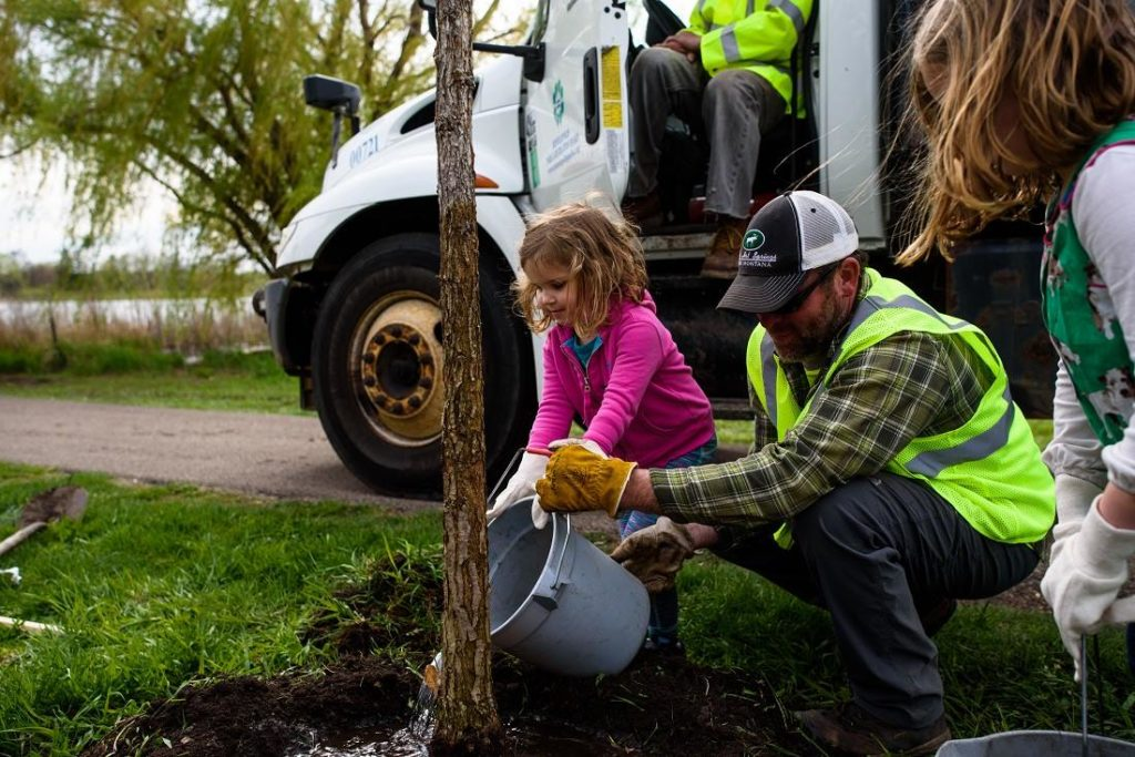 Minneapolis Arbor Day Celebration