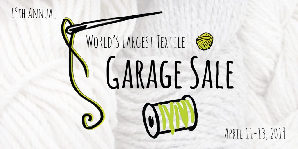 Textile Center's World's Largest Textile Garage Sale