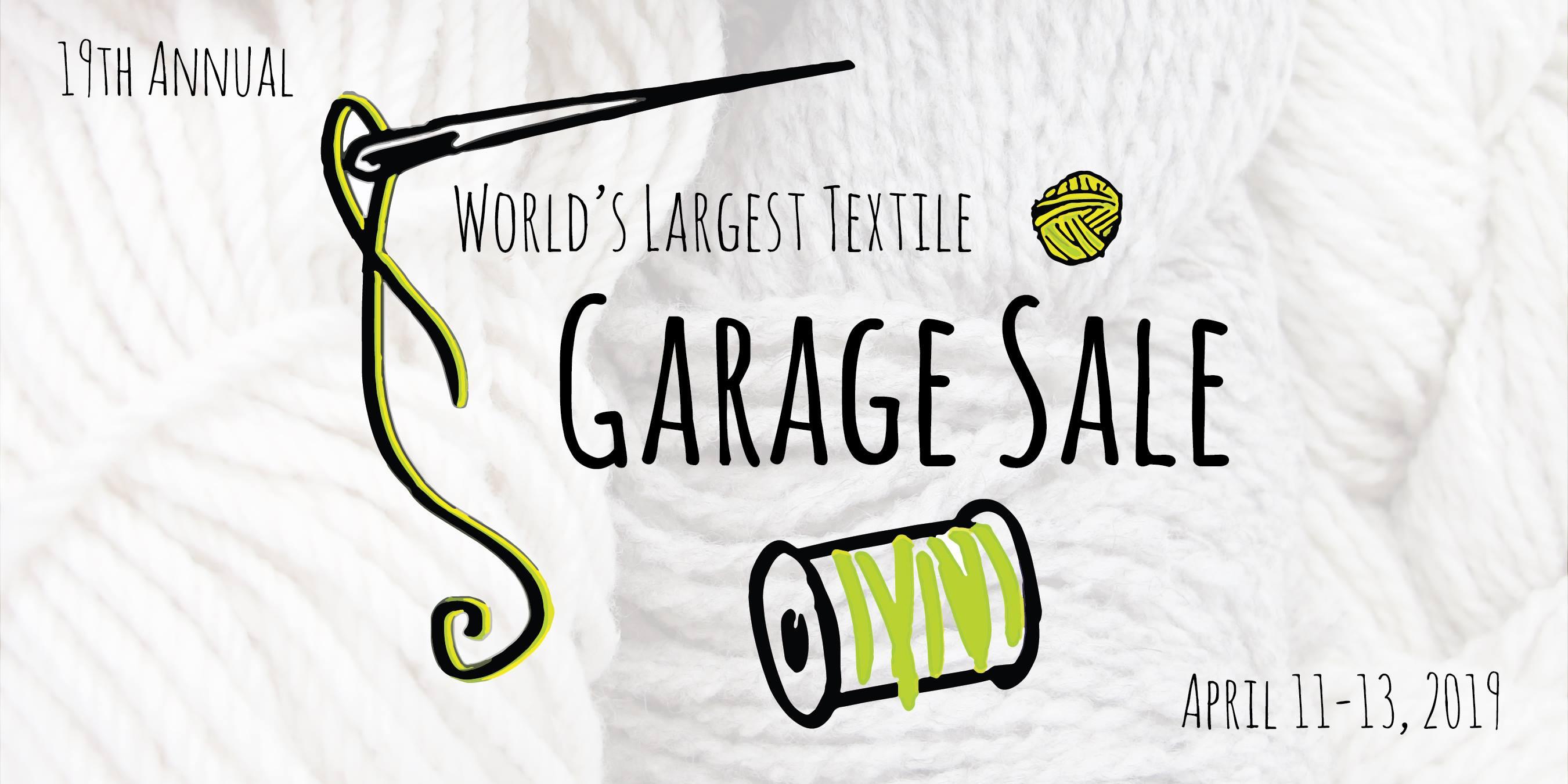 Textile Center's Textile Garage Sale - Thrifty Minnesota