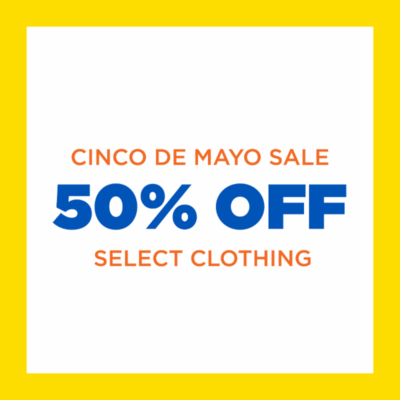 bb13be3d841 Goodwill Cinco de Mayo Sale: 50% Off Select Clothing May 3rd-5th with  Reusable Tote