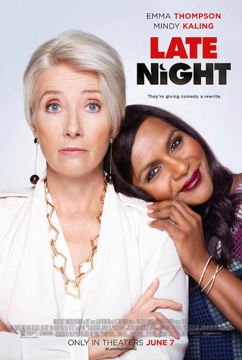 Late Night Movie Poster Emma Mindy