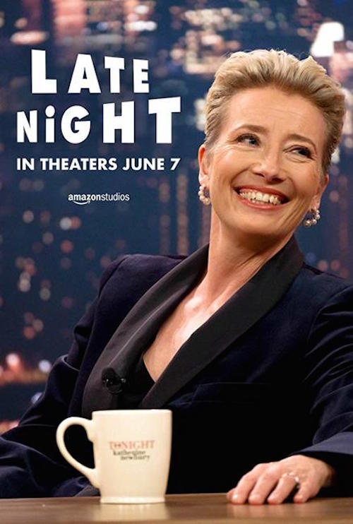 Late Night Movie Poster Emma Thompson