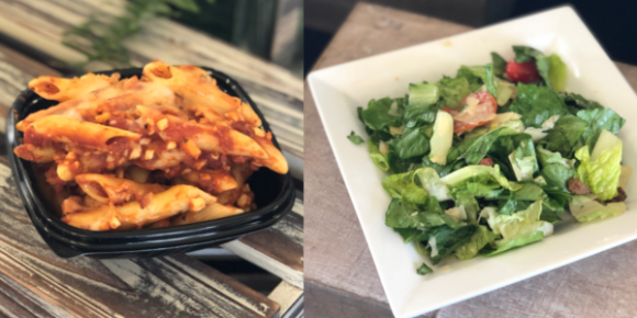 Valleyfair Mostaccioli and Salad
