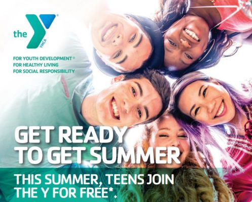 Free YMCA Summer Memberships for High School Students