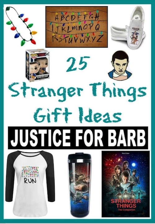 Stranger Things Gift Ideas
