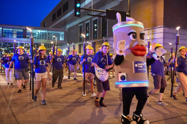 Aquatennial CenterPoint Energy Torchlight Parade Minneapolis