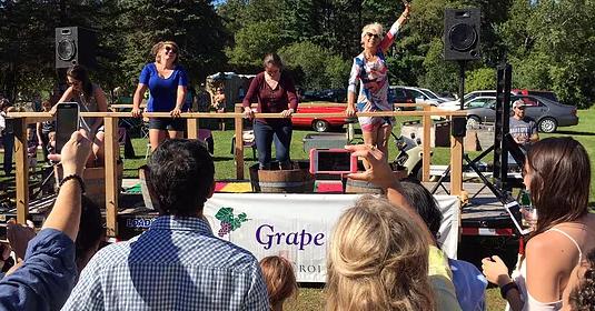 Saint Croix Vineyards Grape Stomp Festival