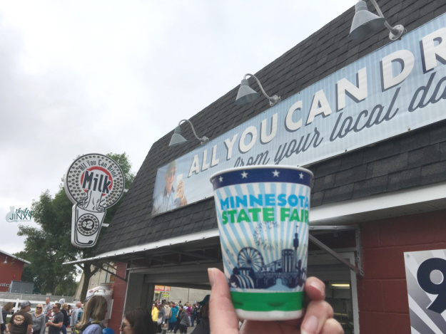 Minnesota State Fair All You Can Drink Milk