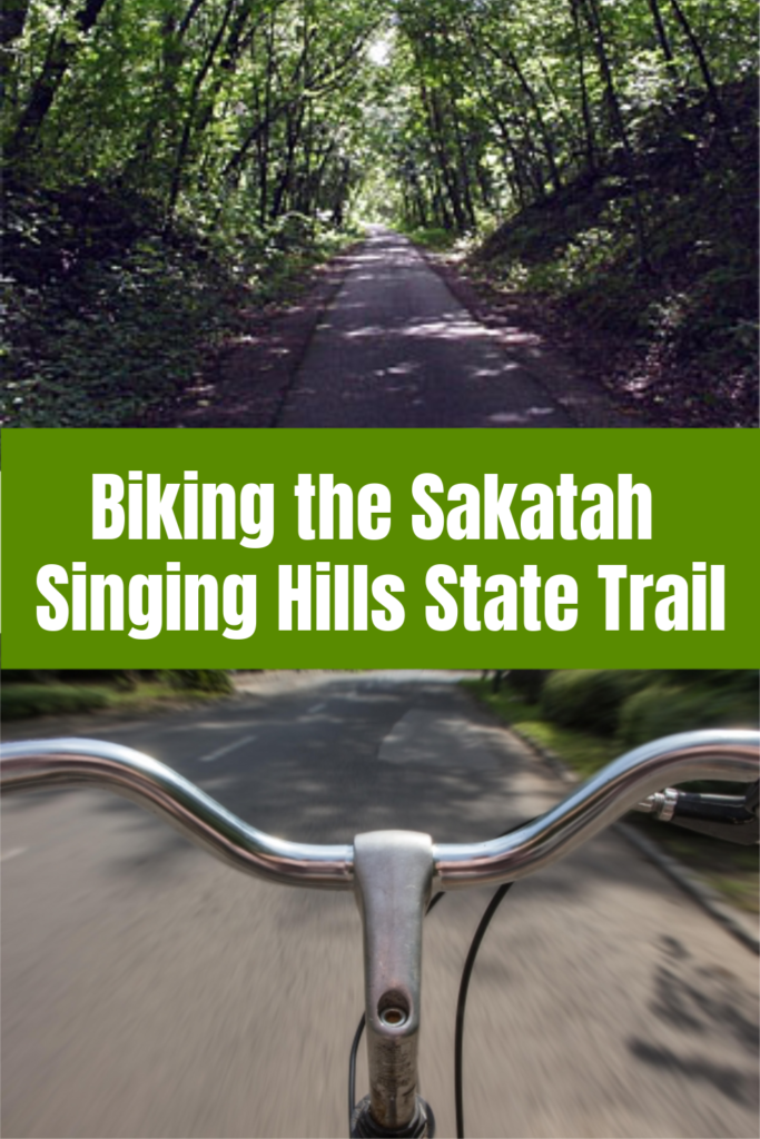 Biking on the Sakatah Singing Hills State Trail