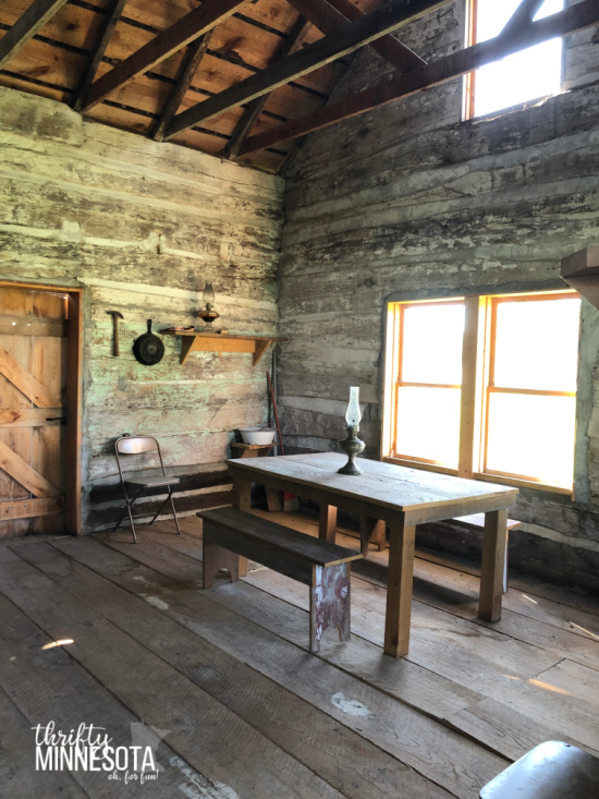 Emmet County Historical Museum Log Cabin