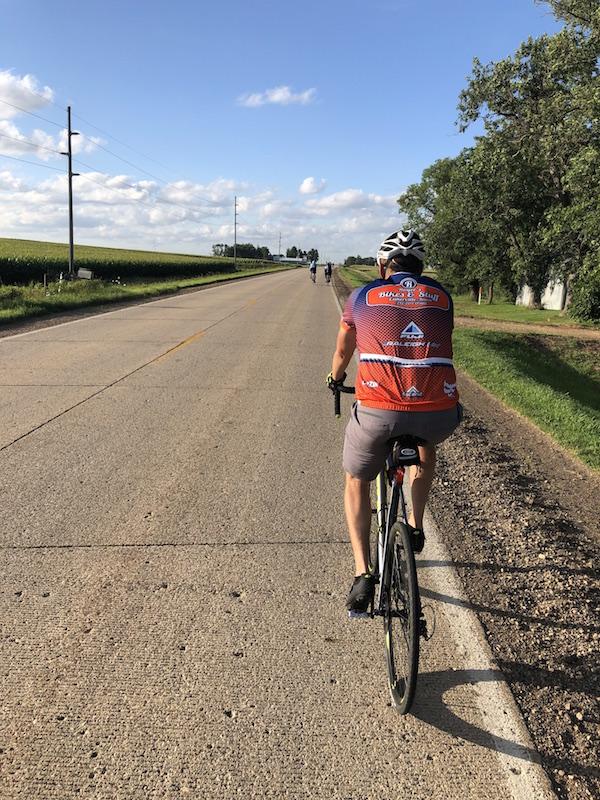 Estherville IA Biking