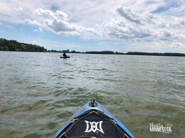Estherville IA Kayak High Lake