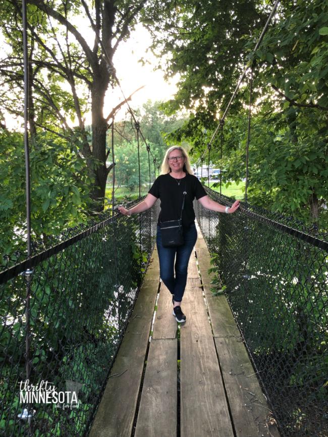 Estherville IA Swinging Bridge