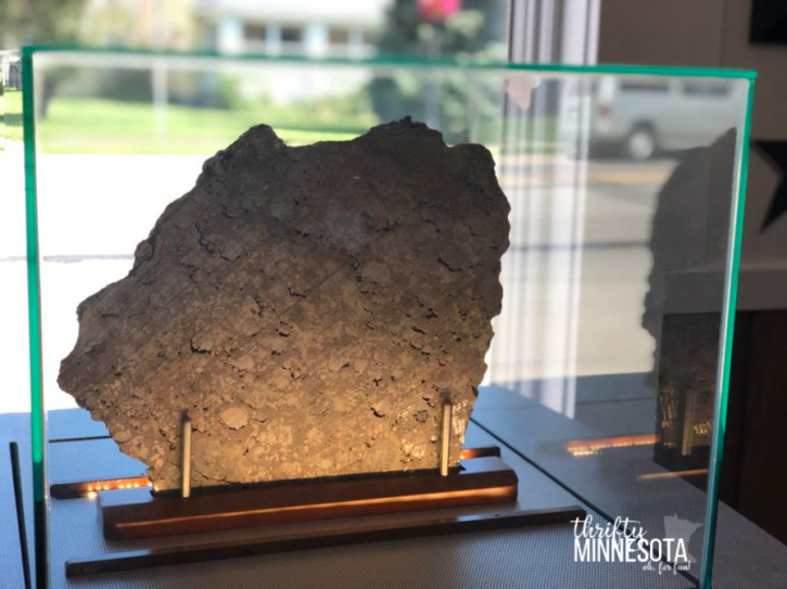 Estherville Meteorite Display