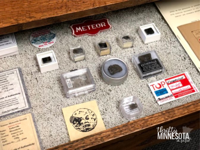 Estherville Meteorite Memorabilia