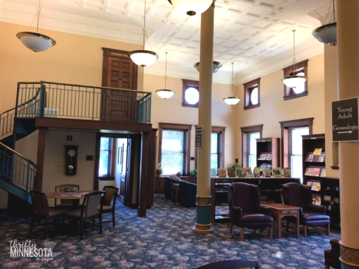 Estherville Public Library Building Interior
