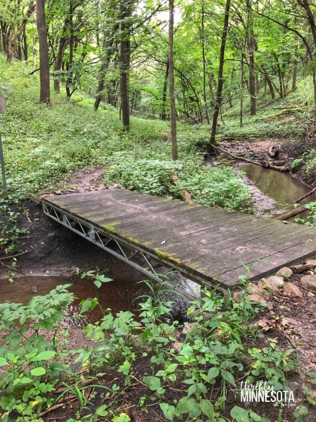 Fort Defiance State Park Bridge