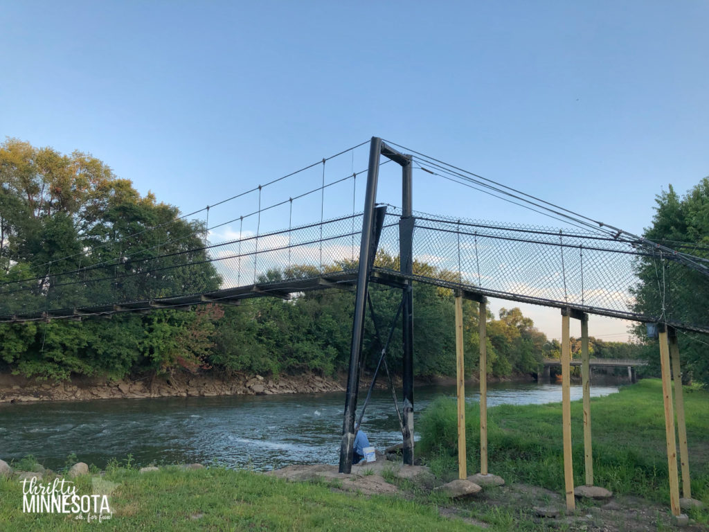 Swinging Bridge Estherville IA