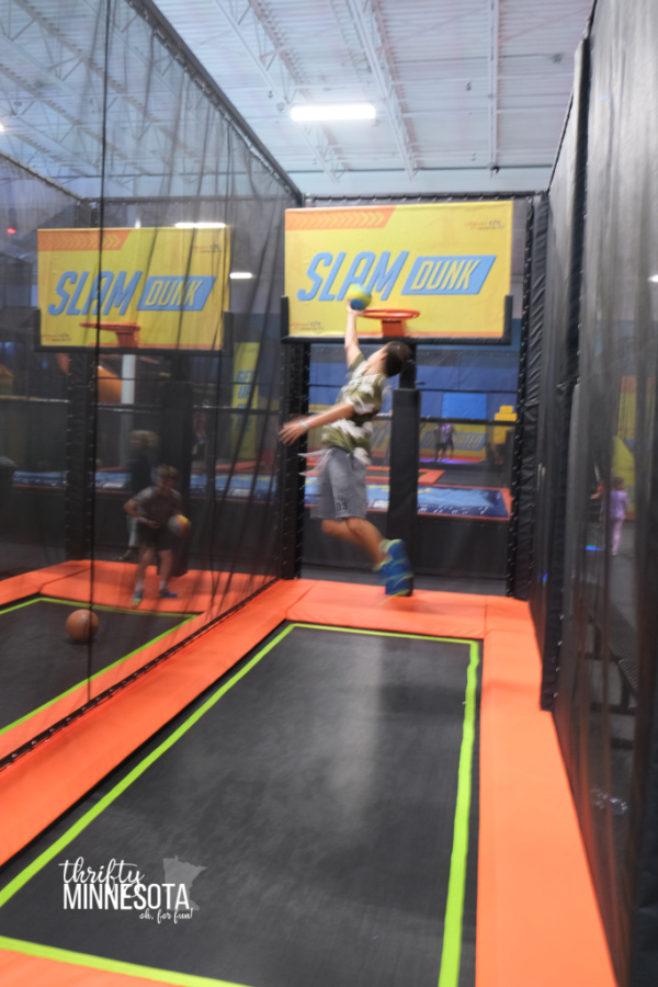 Urban Air Trampoline Park Slam Dunk