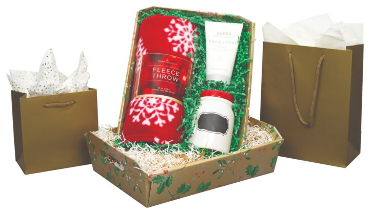 Christmas packaging and gift set