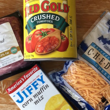 Chili Ingredients from Lunds and Byerlys