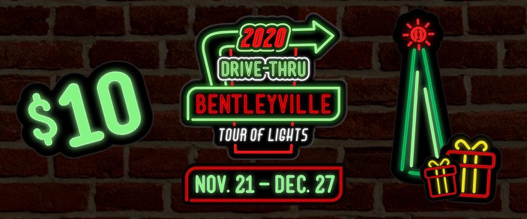 Bentleyville Tour of Lights Drive-Thru 2020