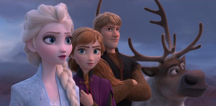 Frozen 2 Anna, Elsa Kristoff Still