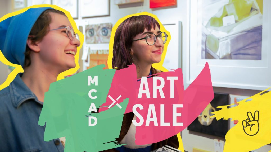 Minneapolis College of Art and Design Art Sale