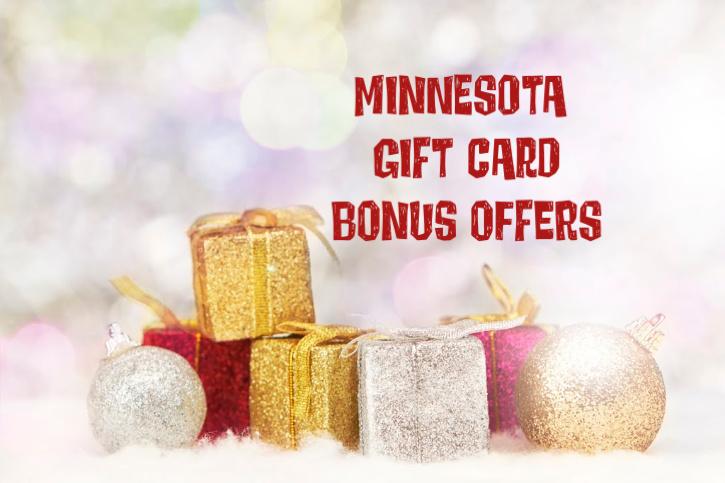 Minnesota Gift Card Bonus Offers