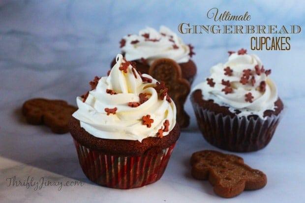 Ultimate Gingerbread Cupcakes Recipe
