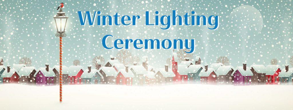 Burnsville Winter Lighting Ceremony
